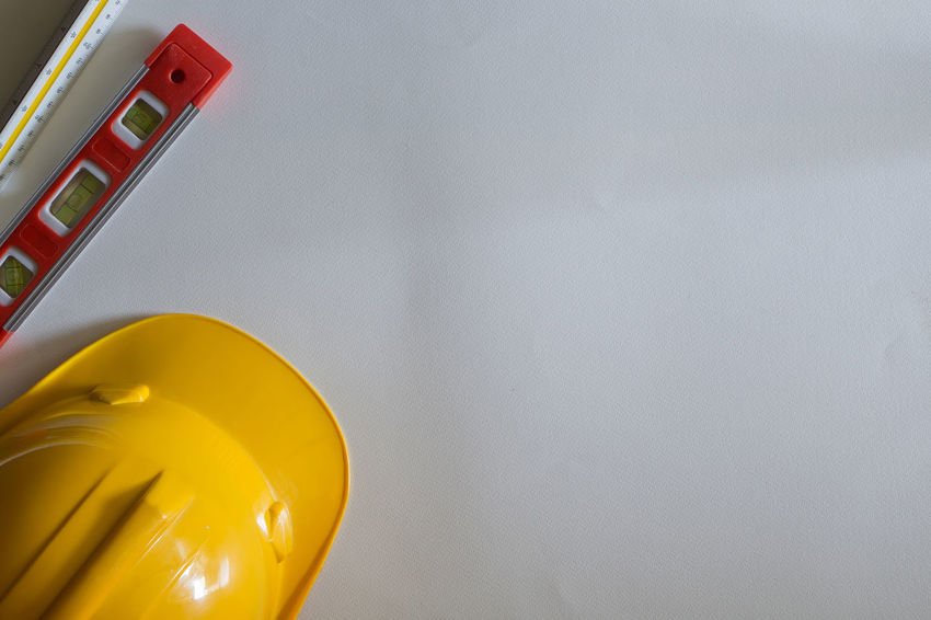Close-up Day Indoors  No People Safety Safety Helmet Technology White Background
