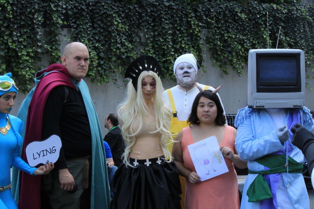 EyeEm Selects Group Of People Television Show Outdoors Cosplay Cosplaying Cosplayer