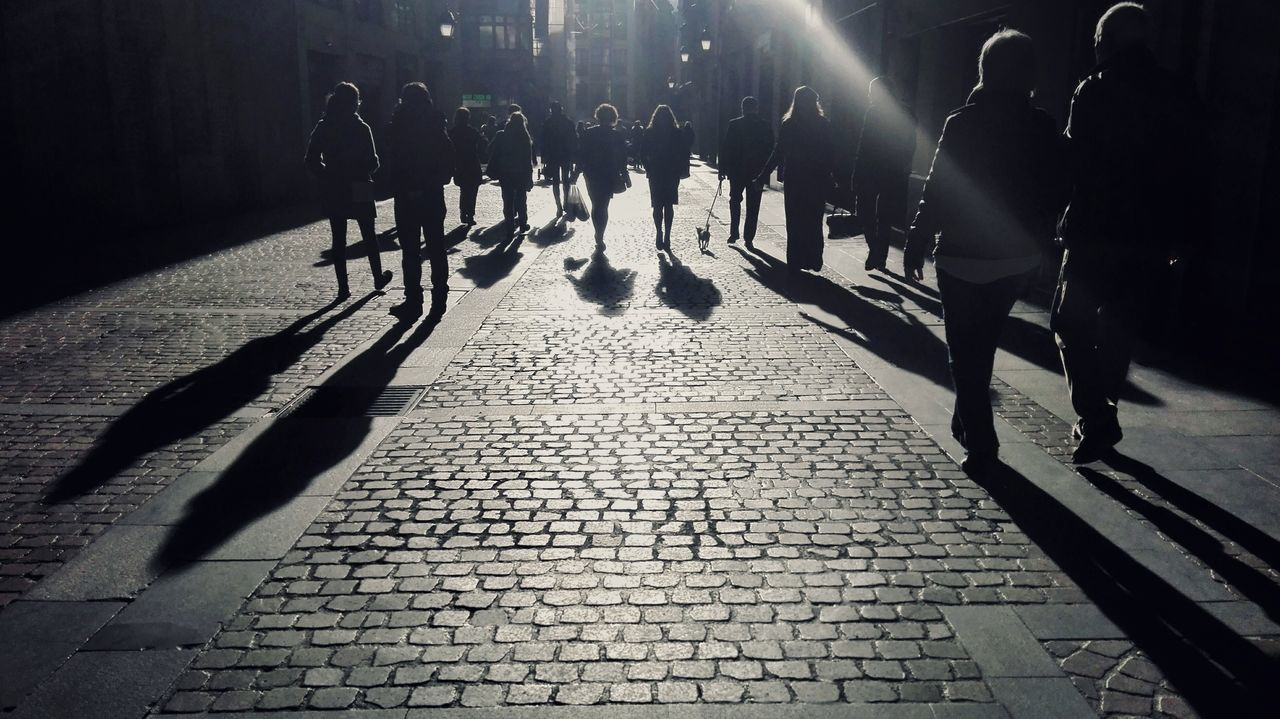 Shadow Silhouette Sunlight Real People People Adult Outdoors Black & White Blackandwhite Photography Monochrome Part Of My Life  Sundaymorning Part Of My Life  Artistic Mobile Photography Mobilephotography Street Streetphotography Street Photography My Own Photography Elegance Everywhere Traveling