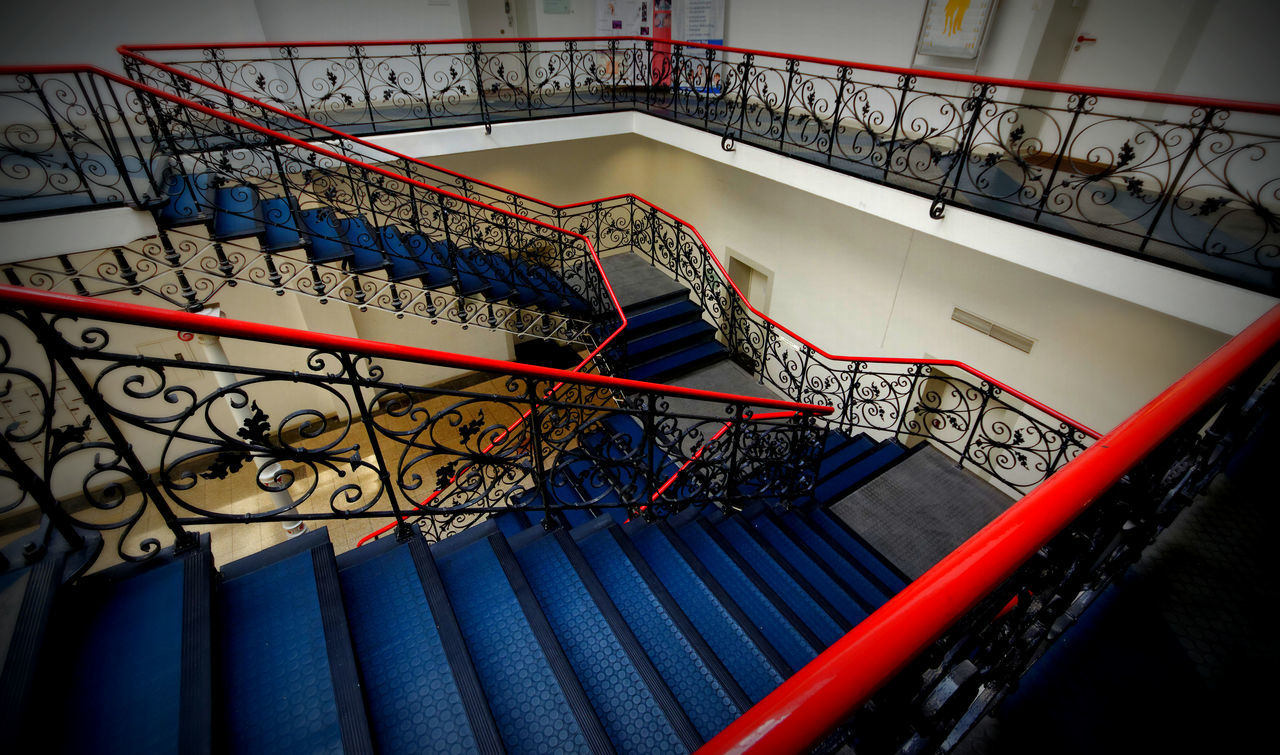 Arts Culture And Entertainment Design Helioshaus Indoors  Staircase Stairs Steps Steps And Staircases