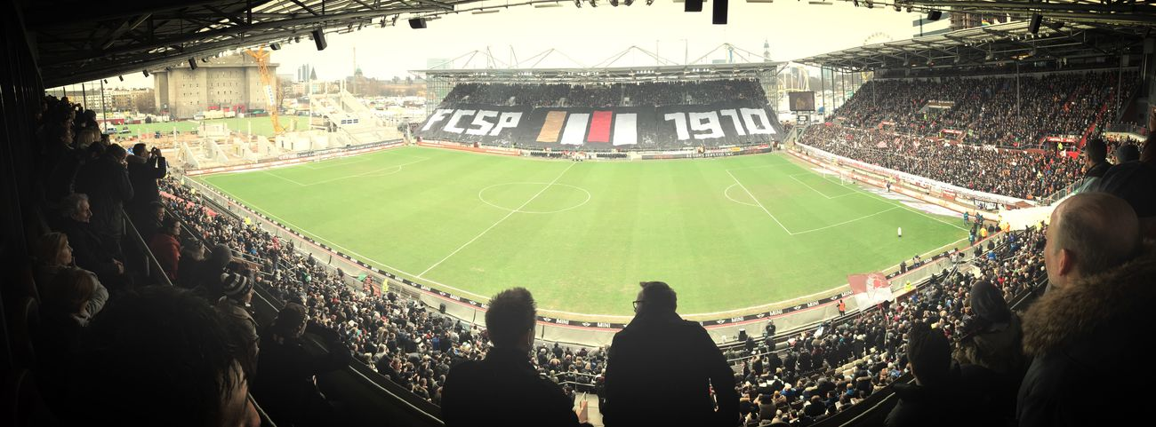 Millerntor Stadium Fc St. Pauli FCSP Watching The Game Choreo