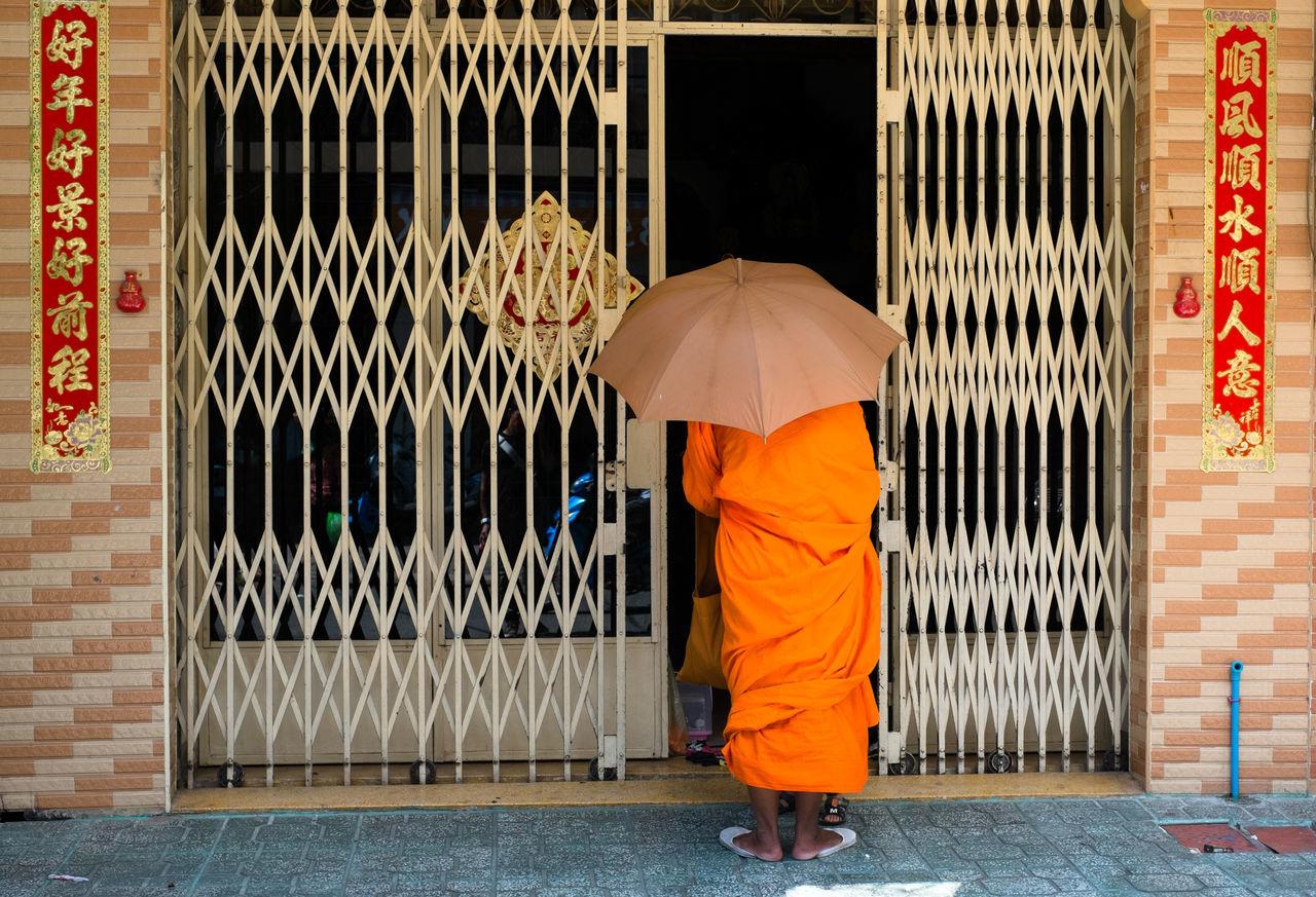 Beautiful stock photos of umbrella, Buddhism, Clothing, Day, Entrance