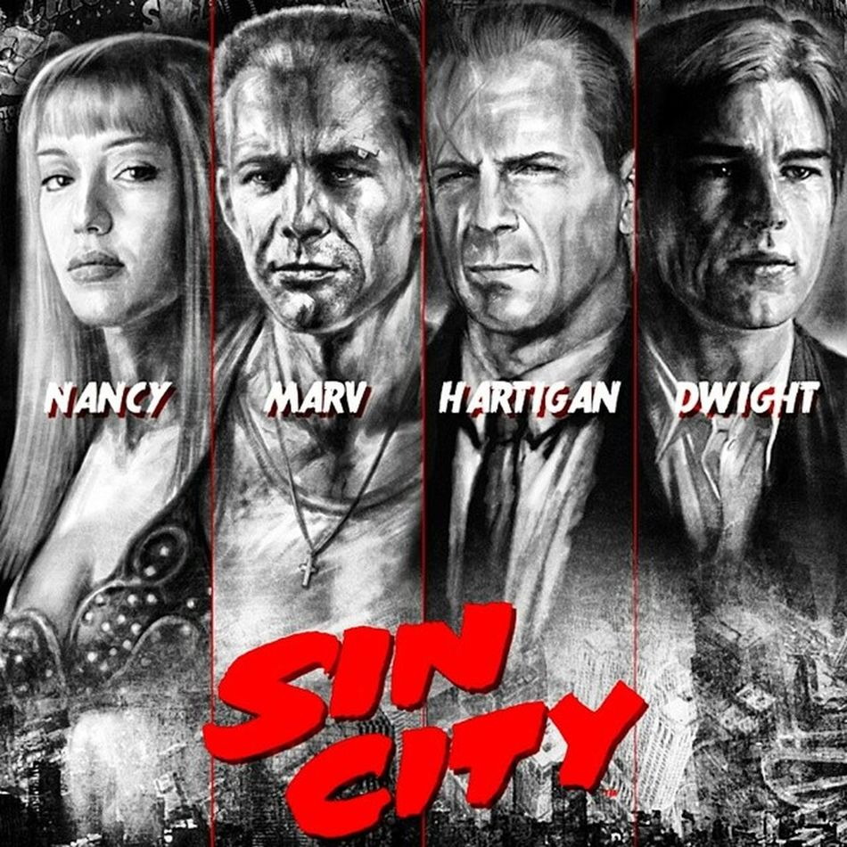 Since The NEW 'Sin City' Starts On Friday, Why Not Pay Homage To The Original... Straight From The Cinematic Vault... SinCity Instaclassic