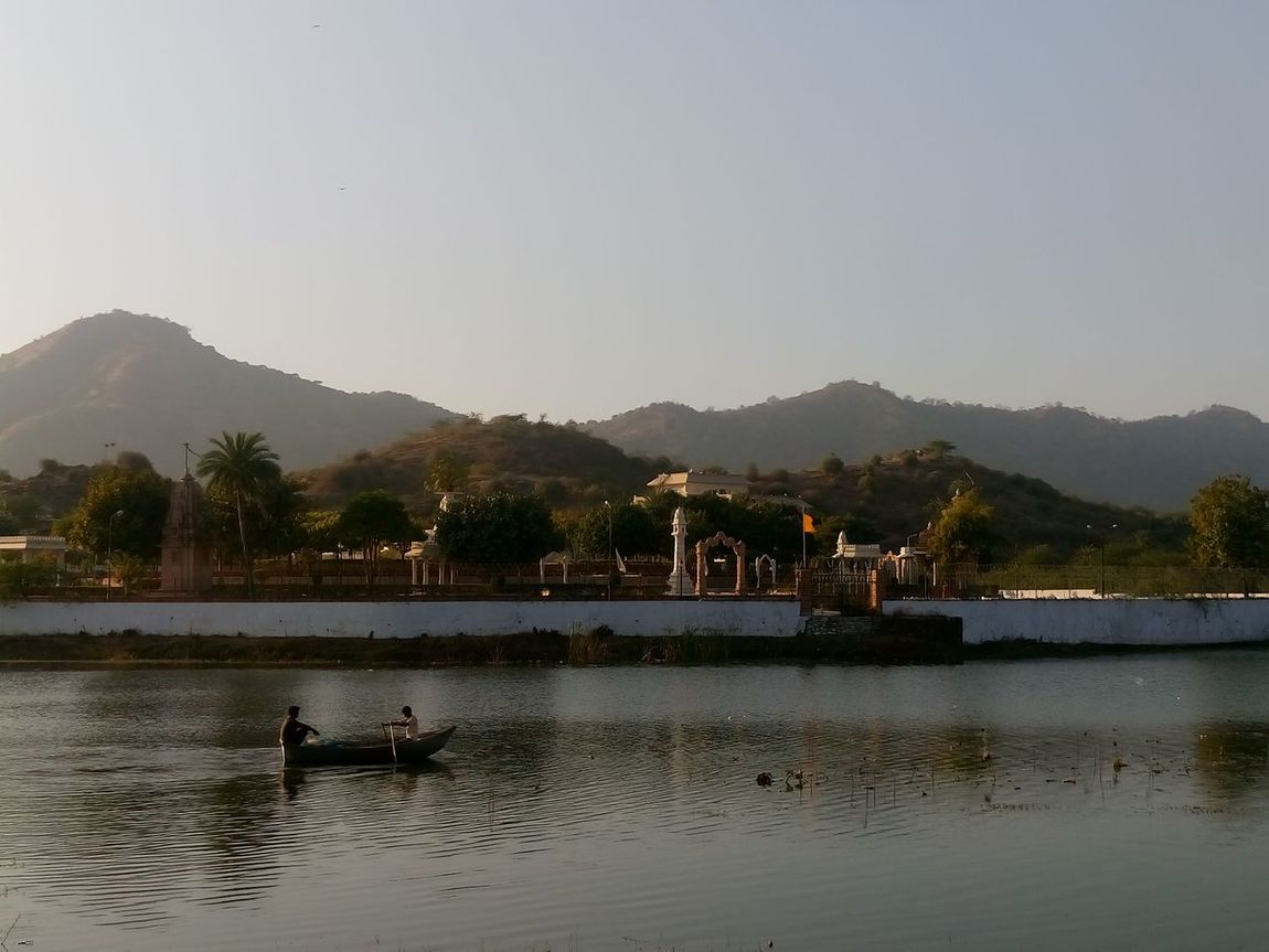 udaipur Day Lake Mode Of Transport Mountain Nature Nautical Vessel Outdoors Pedal Boat People Reflection Scenics Sky Tranquility Transportation Water
