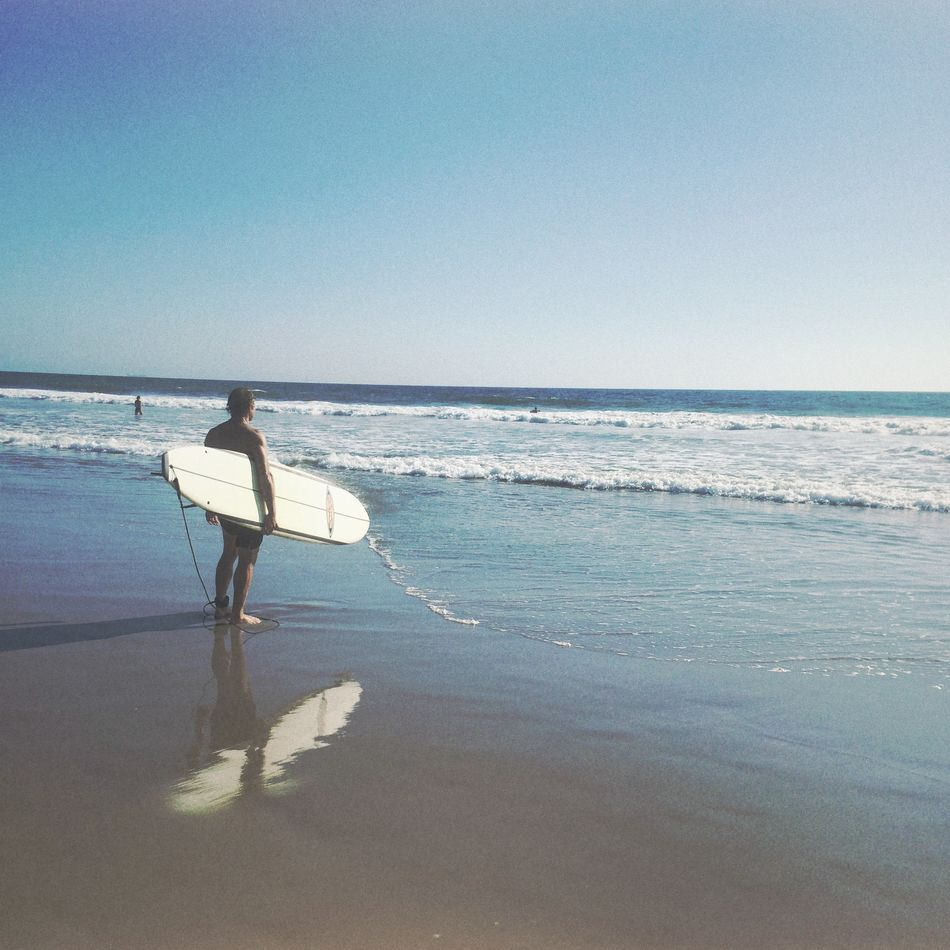 Beautiful stock photos of surf, Beach, Candid, Clear Sky, Contemplation