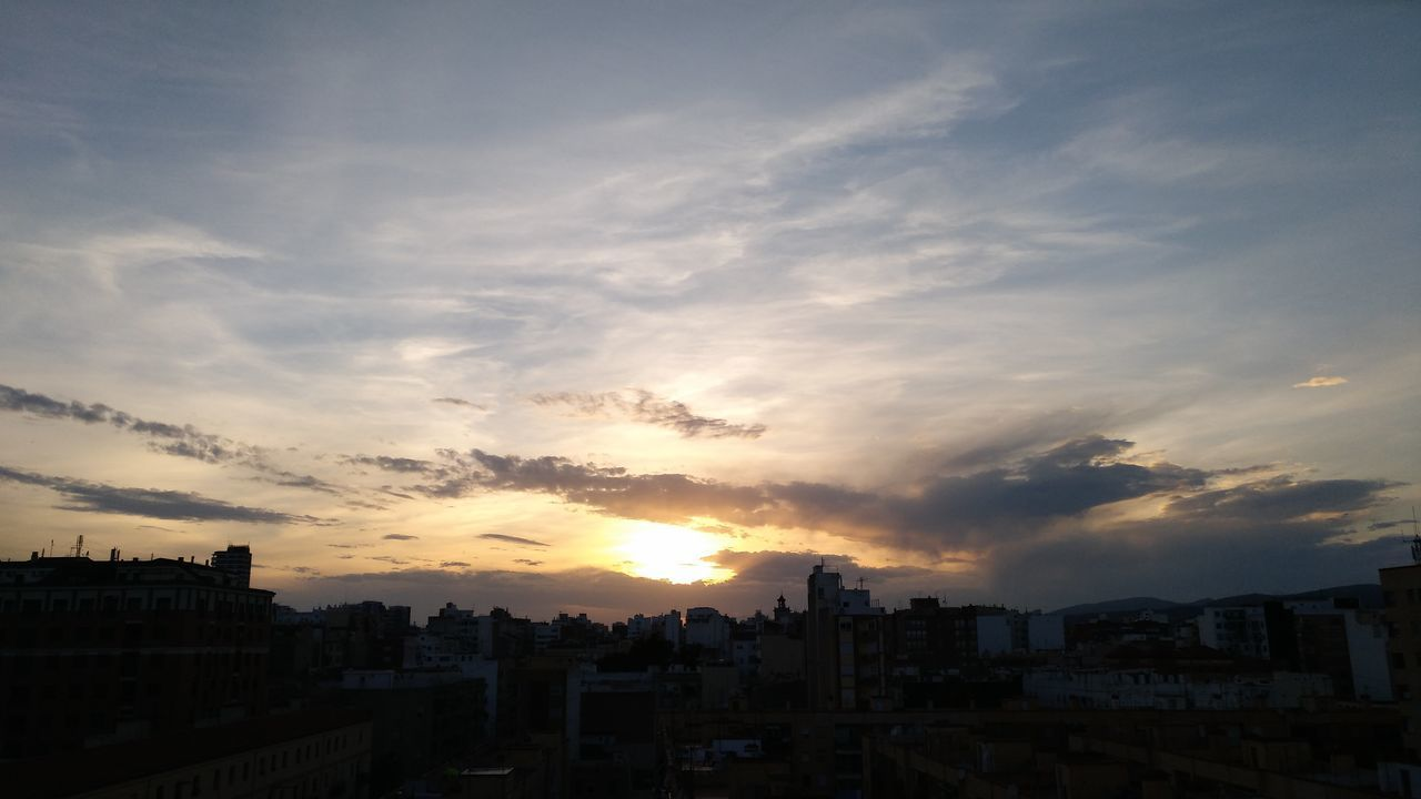 architecture, building exterior, sunset, built structure, city, cityscape, cloud - sky, sky, no people, residential building, outdoors, nature, day