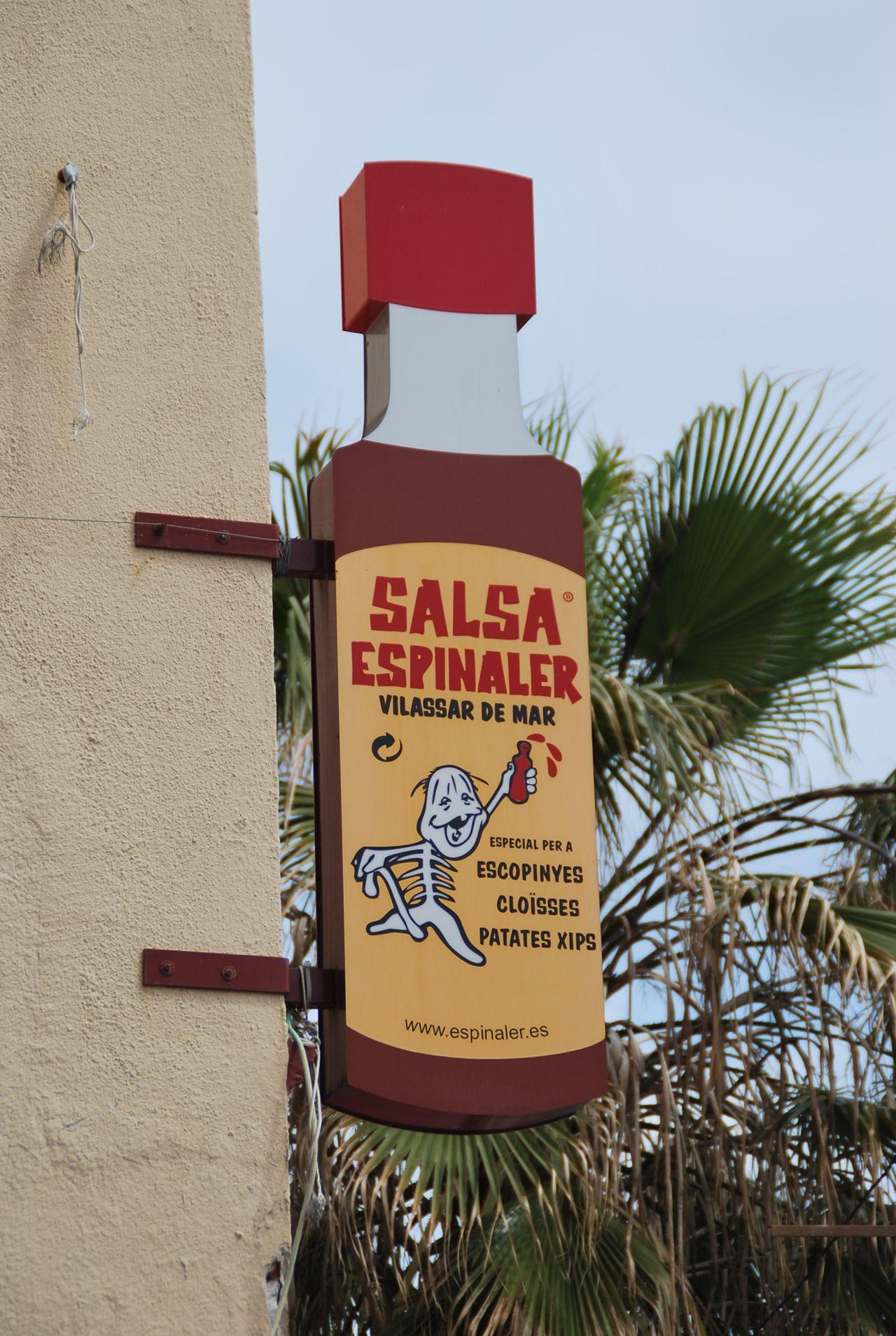 VilassarDeMar Saucy Sign