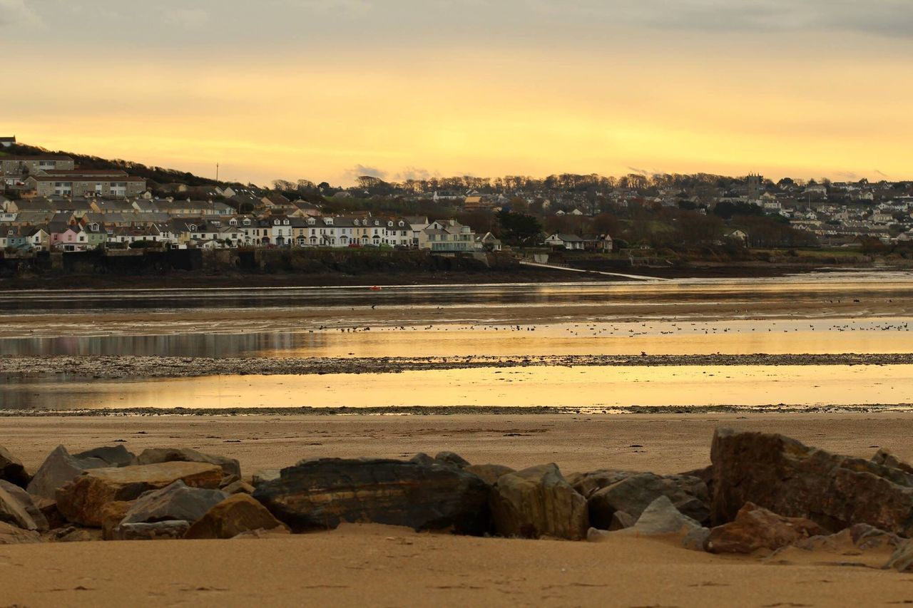 Crow Point in North Devon looking over at Appledore