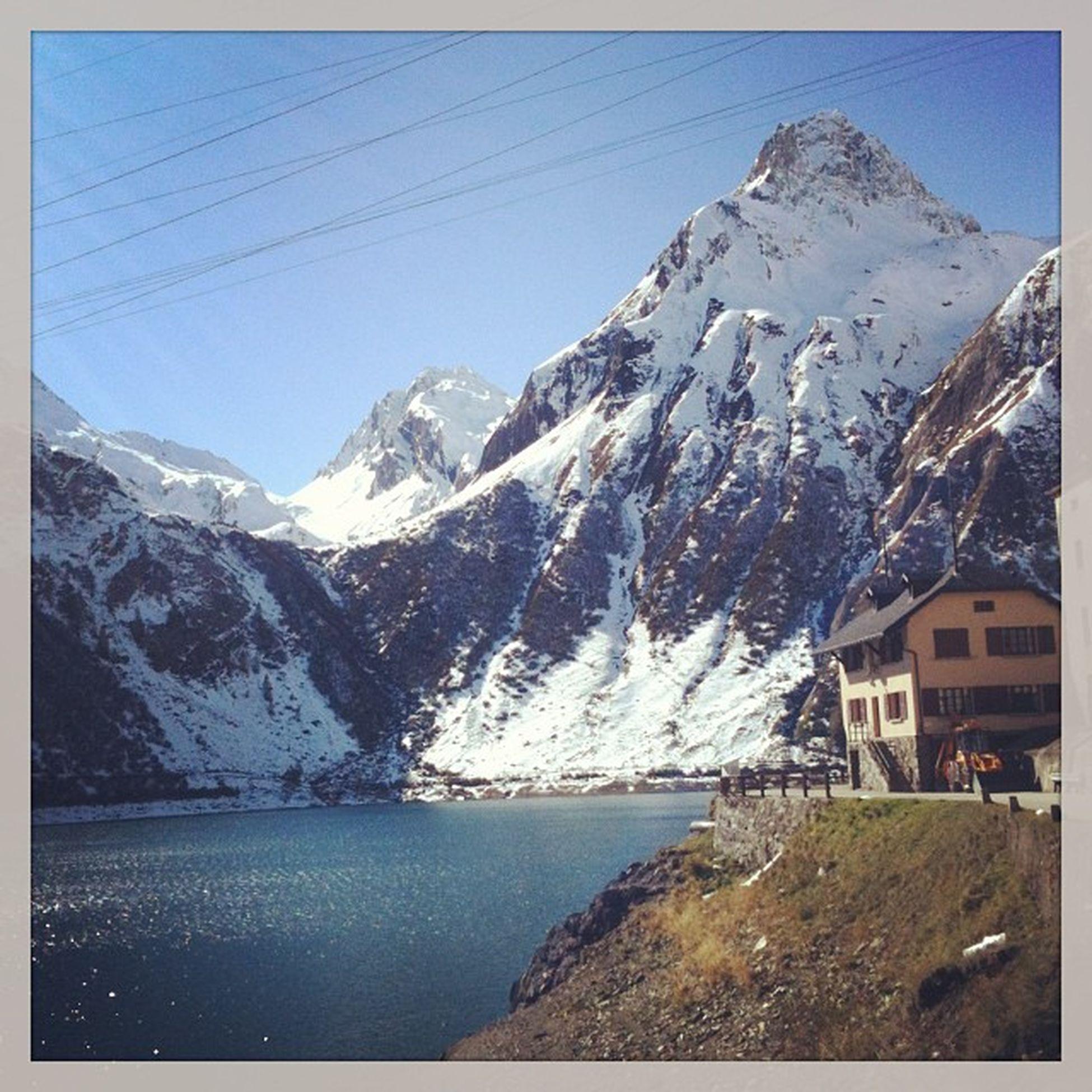 Mountain Hello World Lake Snow