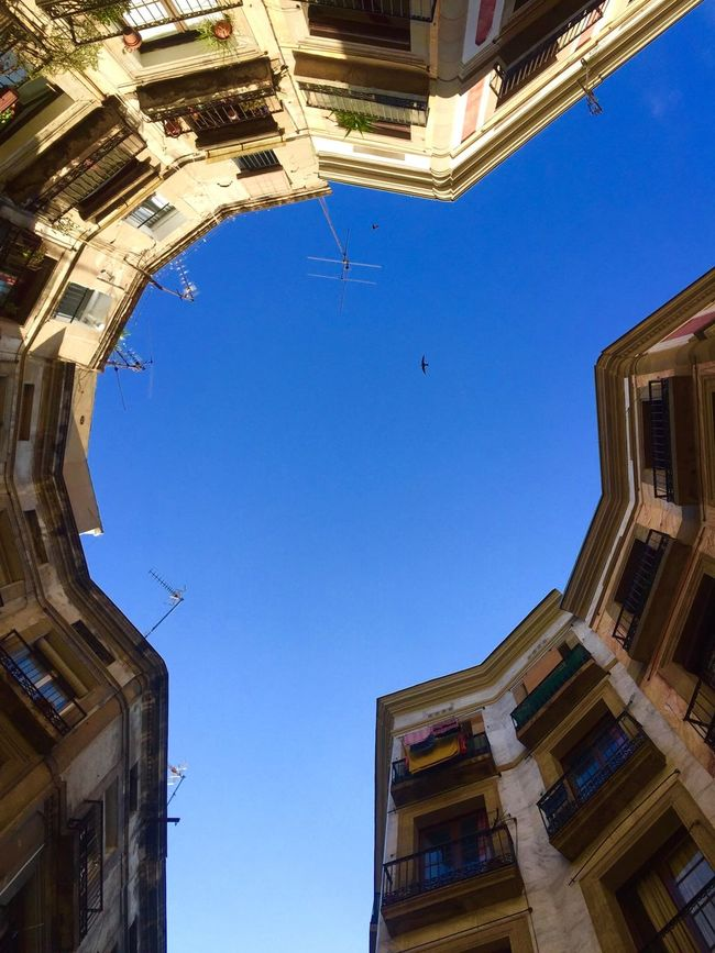 Street Photography Buildings & Sky Punto De Vista Streetphotography From My Point Of View Barcelona