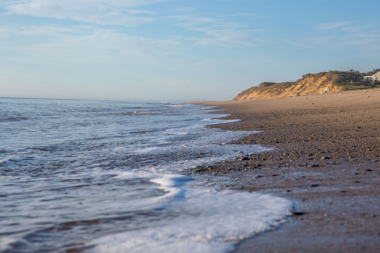 Sinusoidal Beach Cape Cod Horizon Over Water Massachusetts Nauset Beach Outdoors Sand Sea USA Vacation Water Wave