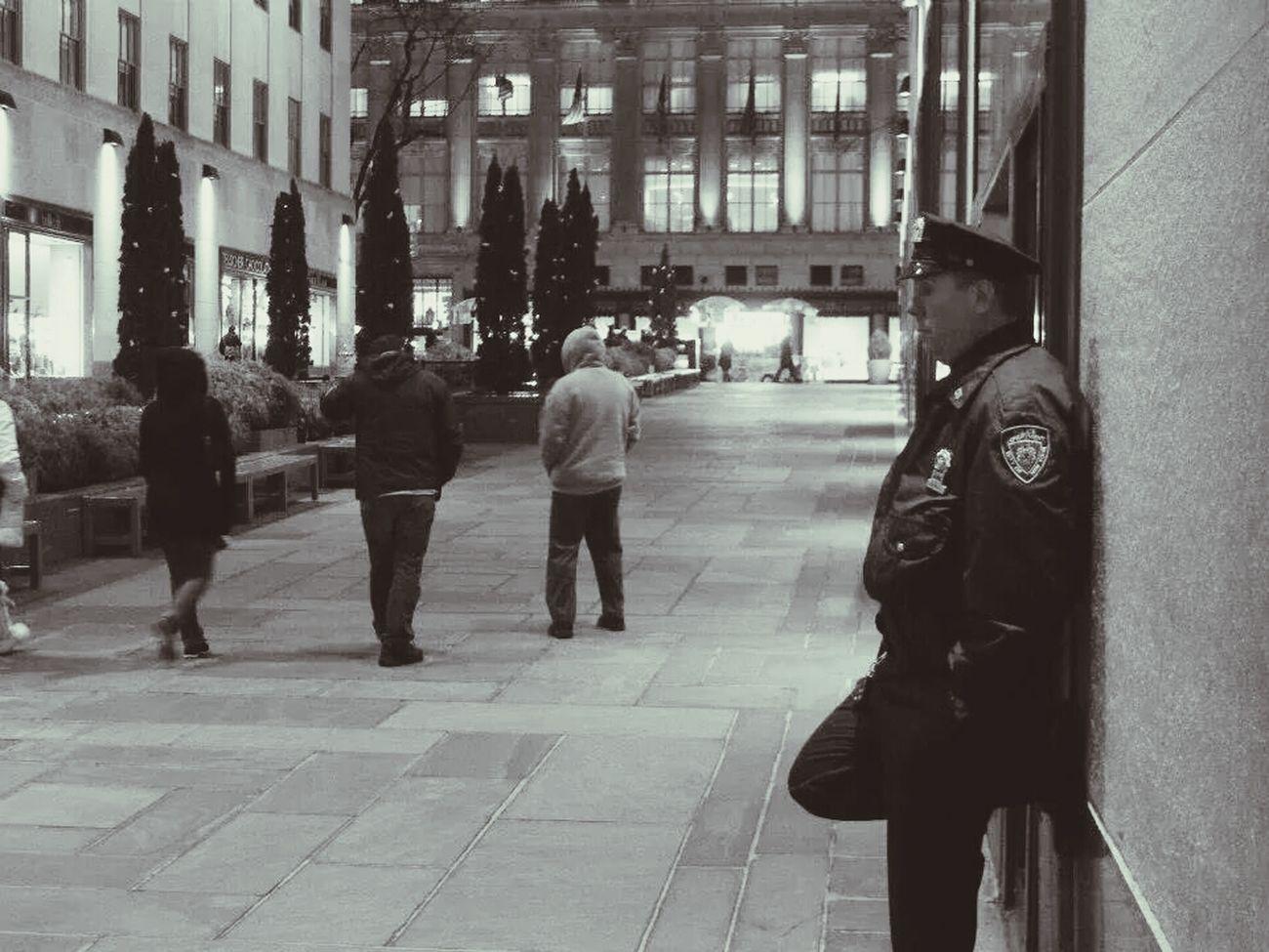 Street Photography Monochrome Rockerfeller The Portraitist - 2014 EyeEm Awards