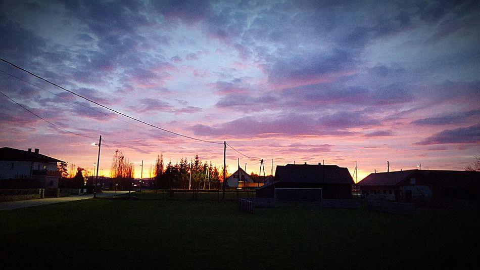 Zlatoličje Slovenia Sunset