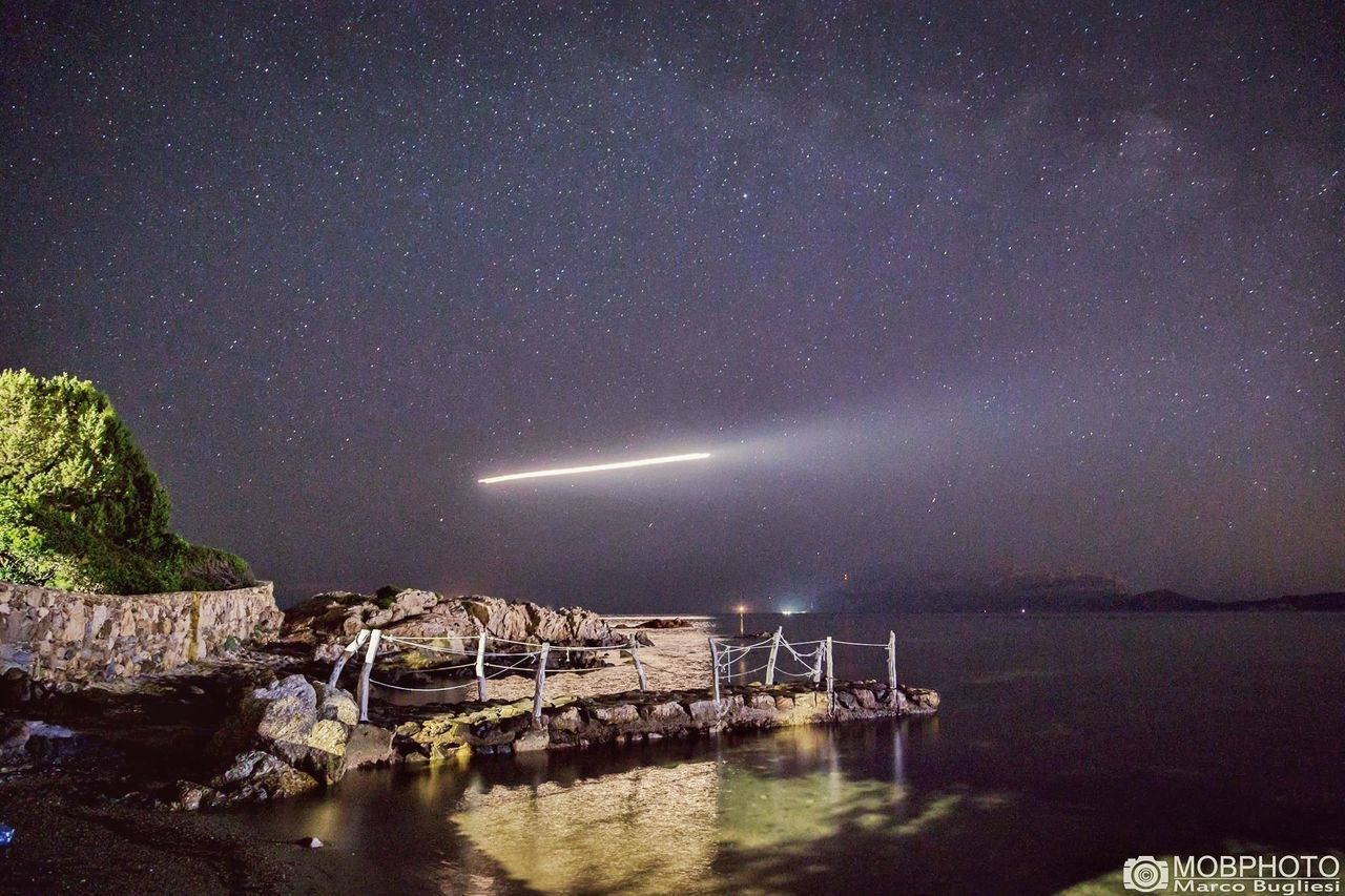 Night Star - Space Galaxy Long Exposure Sea Landscape Beauty In Nature Outdoors Astrology Sign Sardegna Good Morning! Italy❤️ Lovephotography  Beauty In Nature Constellation Sky Summer Space Nature Lovephotography  Sardegna Italy Eyem Nature Lover Lovephotography  Mobphoto Nature