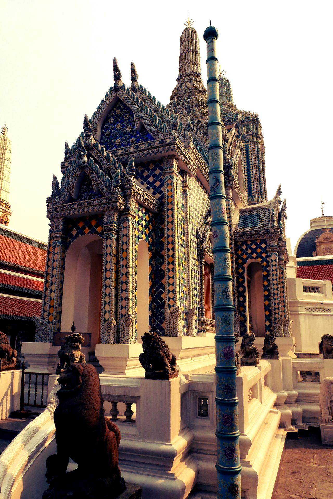 Architecture Bangkok Detailed Art EyeEm City Shots Great Palace Bang Great Palace Bangkok No People Palace Bangkok Thailand Place Of Worship Splendid Thailand Tourist Spot Travel Destinations