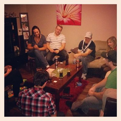 Bday get together... Friends Drinks Cardsagainsthumanity