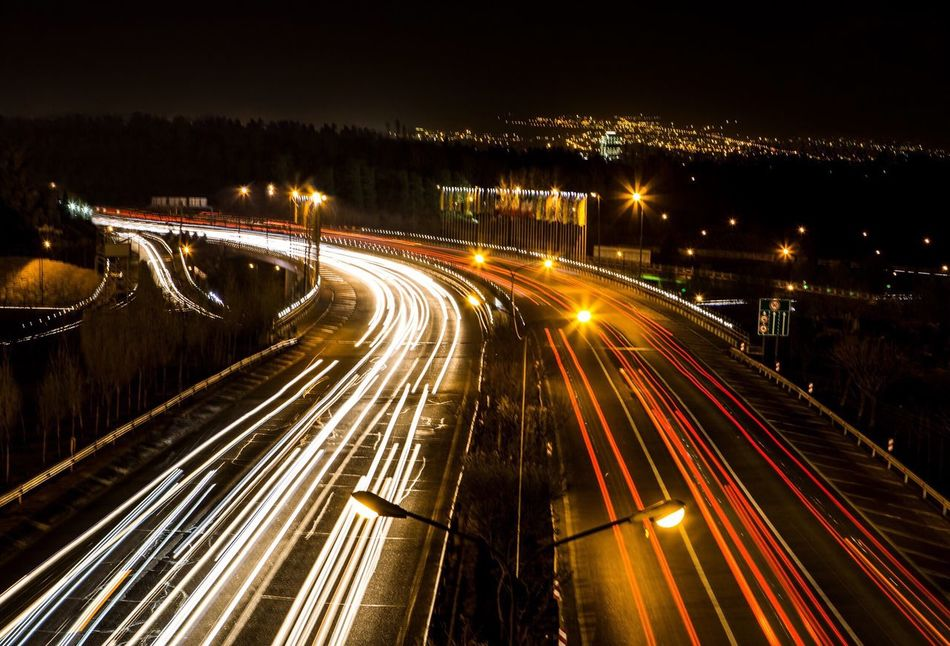 This is hemmat highway in the night another photo of Tehran nights. Night Long Exposure Traffic City No People Motion Outdoors Tehran Night Tehrancity Tehran, Iran Tehran At Night Tehranpic Tehran Streets Tehran_pix EyeEm Diversity The Secret Spaces