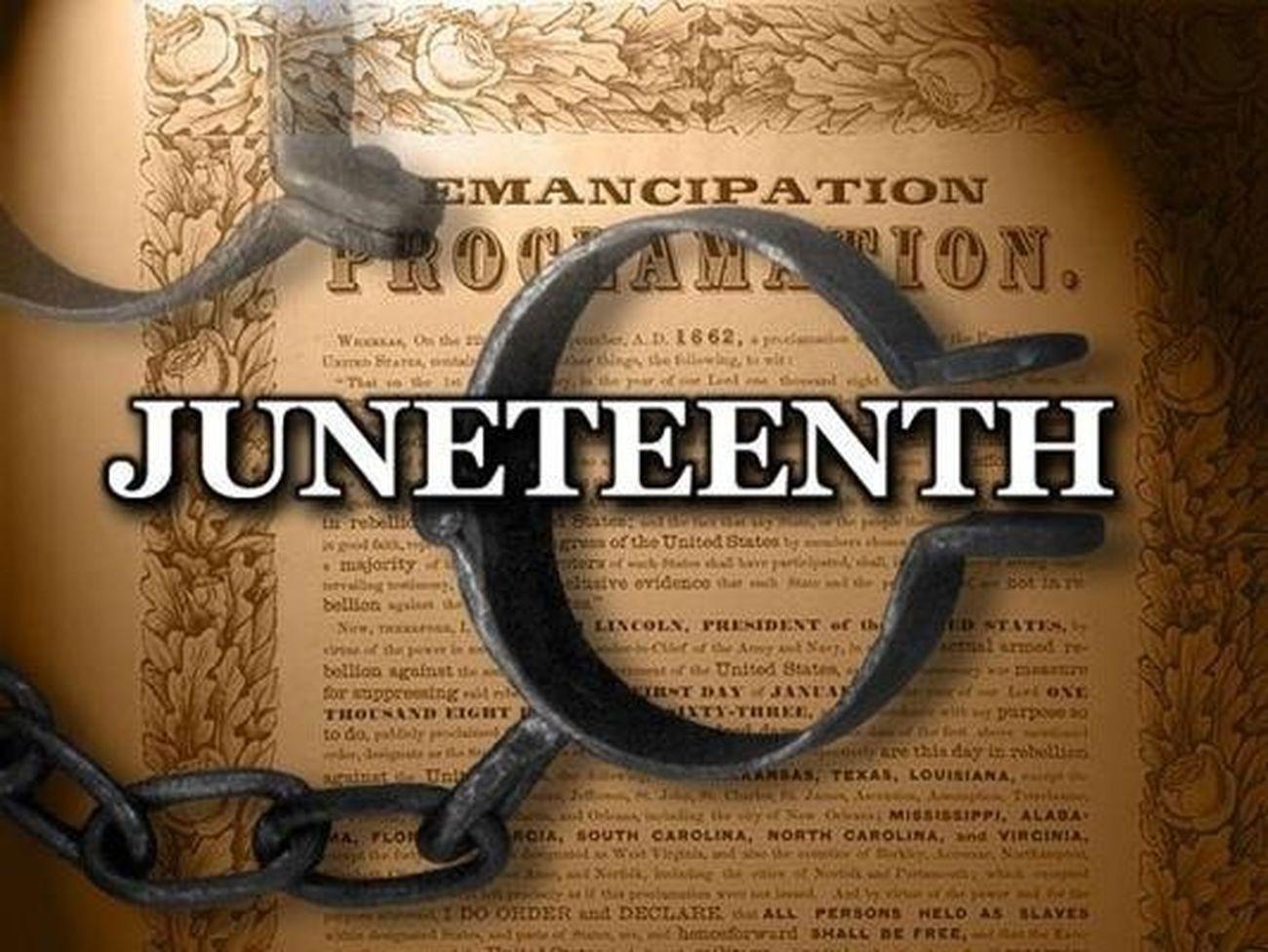 Happy Juneteenth my people ! Texas slave Emancipation Freedom