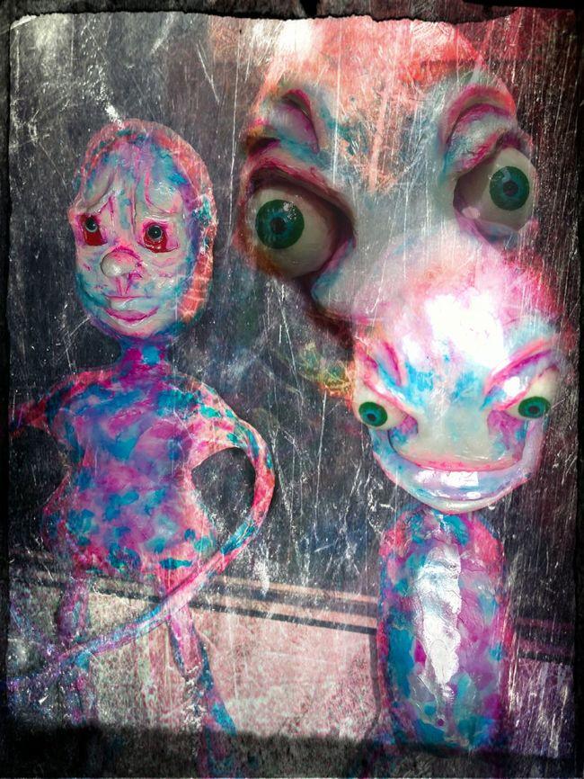 Art Monkey On My Back  Sculptures Mixedmedia Secret Garden Darkness And Light
