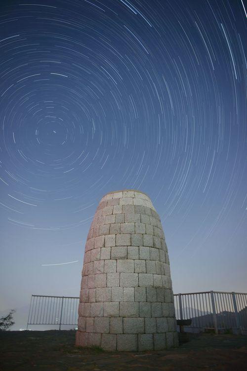 Nikon D610 2470n Seoul_korea Trajectory Night View Photo Stars Trajectory