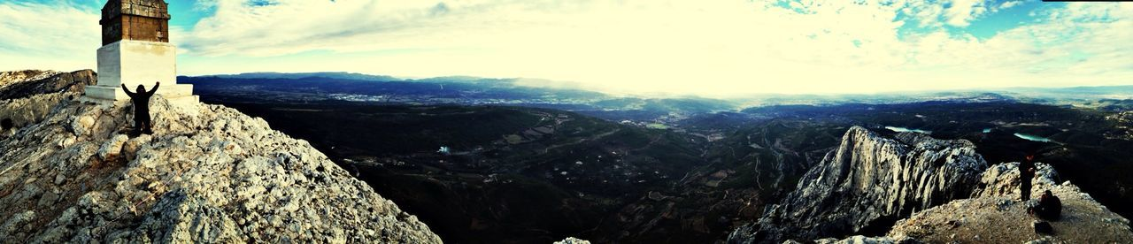 Not top of the world but very high up.. Enjoying The View The Story Behind The Picture