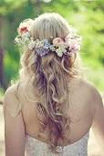 Corona de flower :3 linda