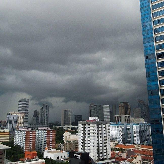 🎵 Garaj baras saawan ghir aayo 🎵 Storm comin Darkclouds Windy Tufan Barish Rain Heavy Dark Clouds Nofilter