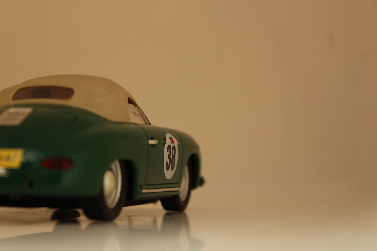 38 Car Green Model No People Porche Racecar Transport