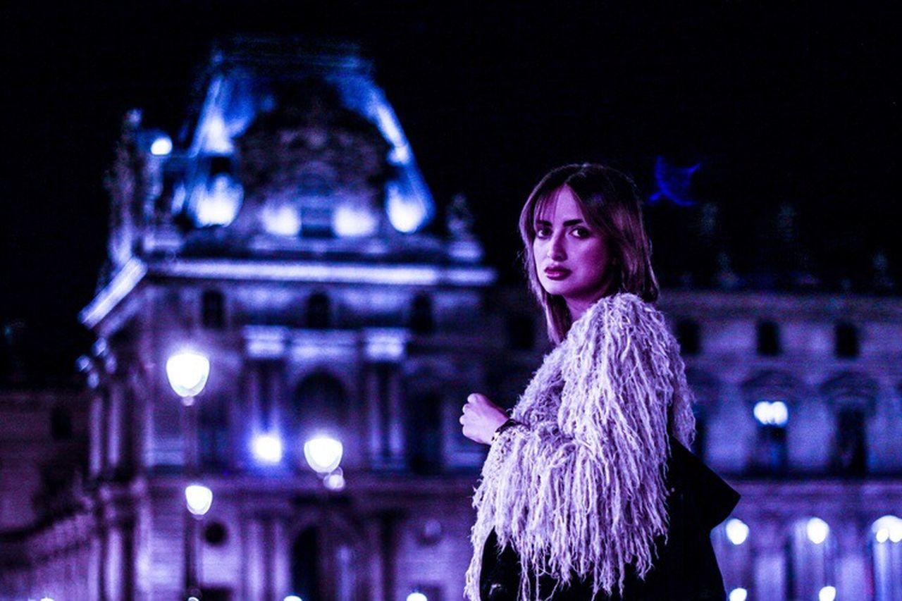 Midnight in Paris Model Paris Saint Germain Musée Du Louvre Europe Canon 5d Mark Lll Primeshots German Girl Love