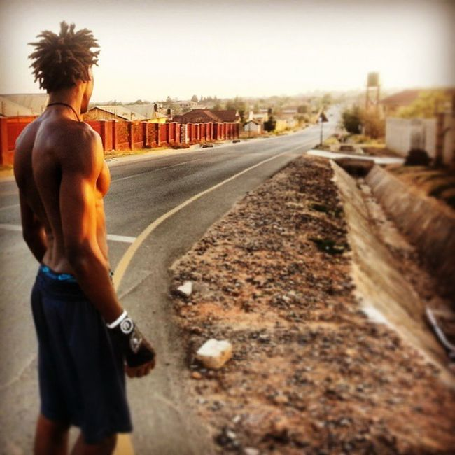 Sometimes, a long road is what we have ahead of us. Just run through it....you'll get there. Jogging Scottyzepplin Followme Naturalworkout Body & Fitness Barbrothers Me