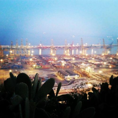 Contemplando el puerto :) Port De Barcelona  Barcelona Catalunya Great Views