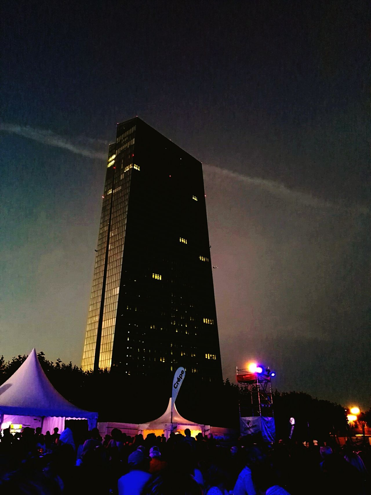 Festival Season Open Air hr 3 sinfonieorchester European Central Bank Weseler Werft Building And Sky Archtecture