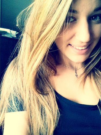 new hair color *-* Blondiee ❤
