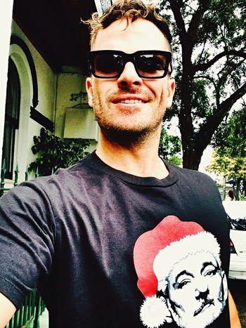 Murray Christmas Hi! Self Portrait Christmas That's Me Walking Around Selfie Faces Of EyeEm Bill Murray Australia Cheese!