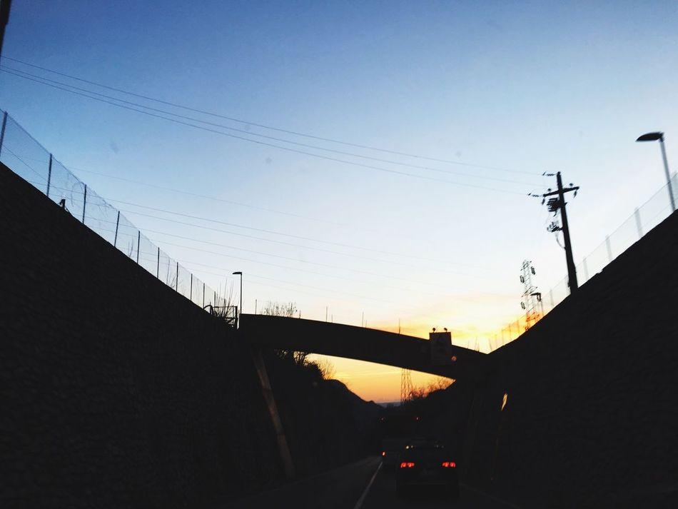 Bridge Puesta De Sol LongWaysFromHome