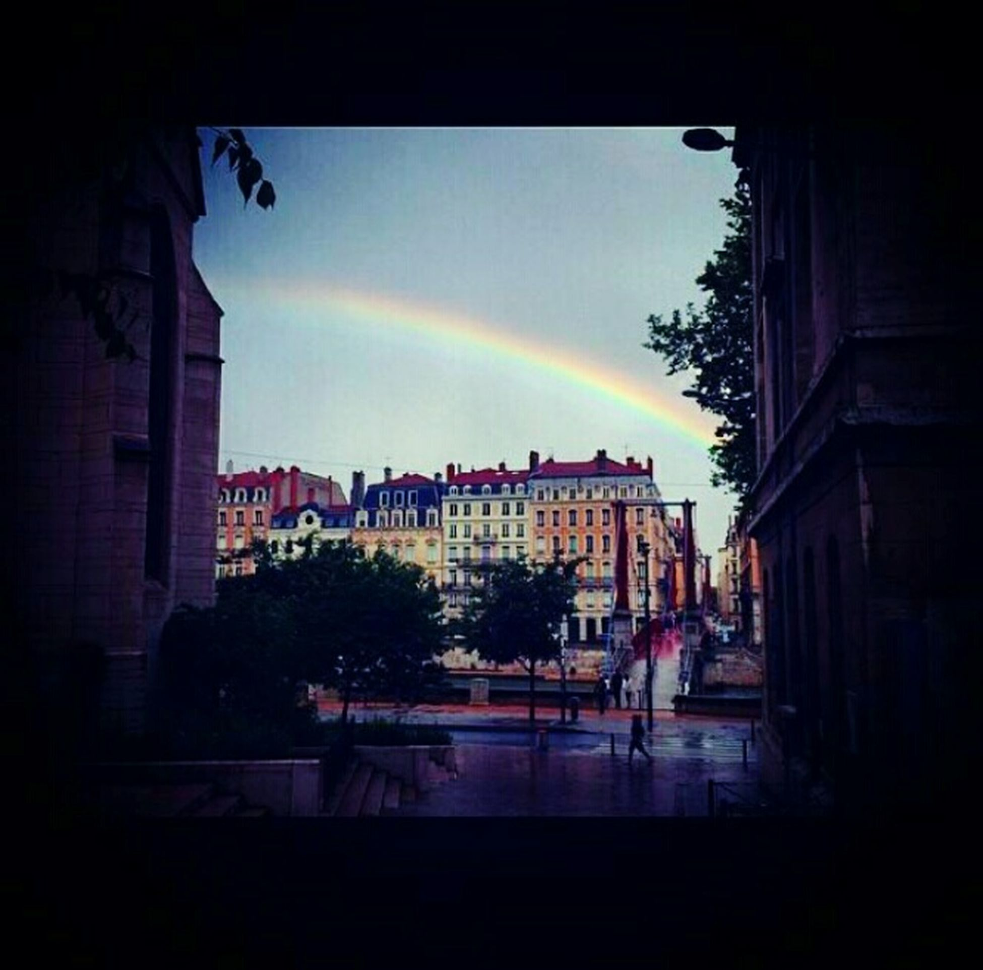Arc En Cielquand la Nature reprend sa place