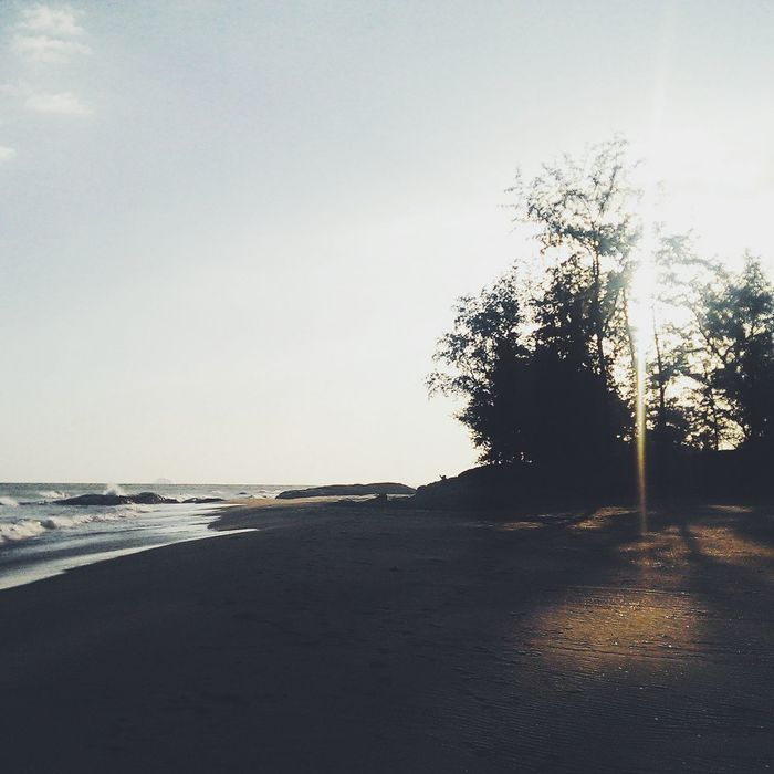 Great Time  Morning Light Silent Landscape in Lagi