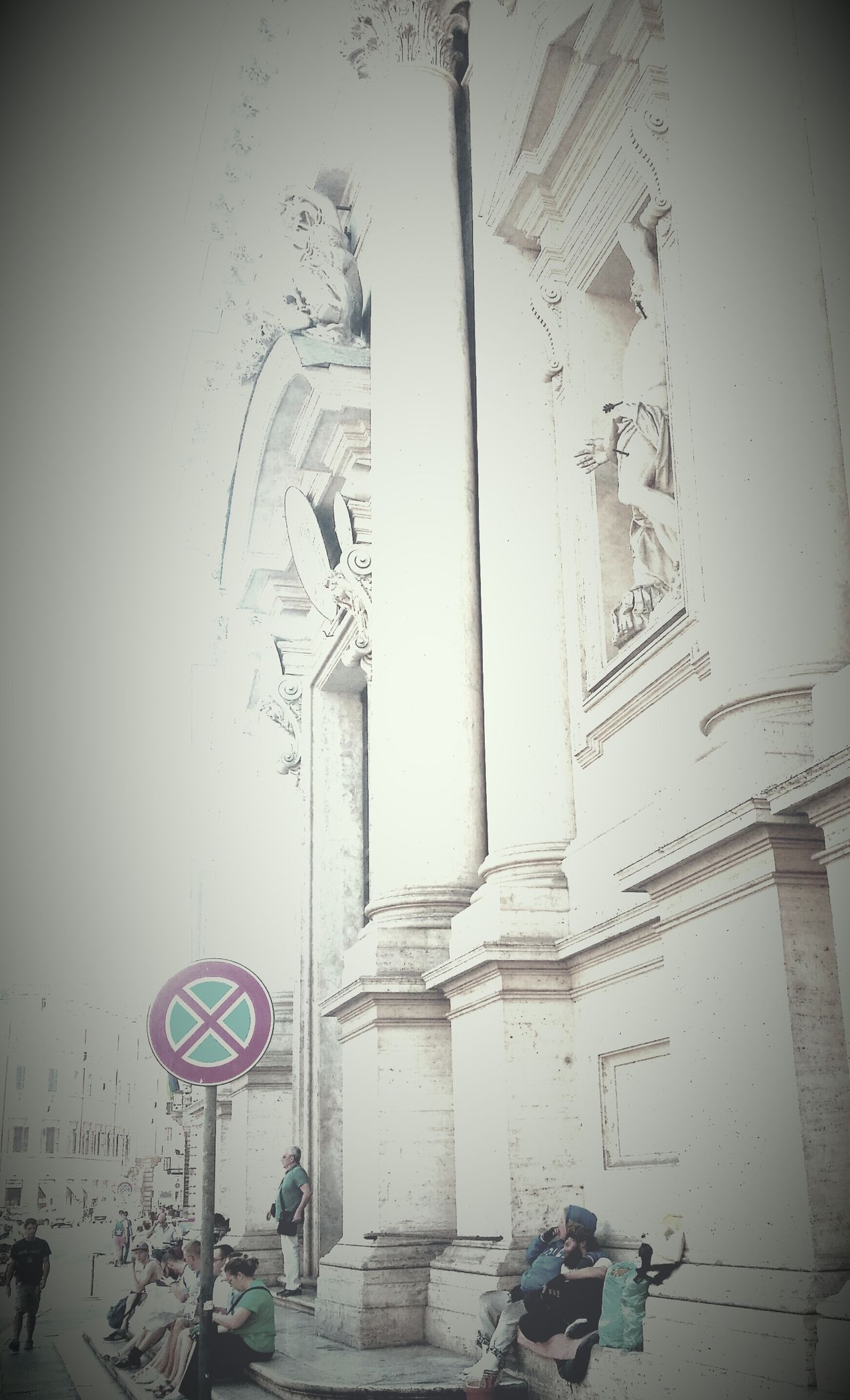 Corso Vittorio Rome Street Photography Indifference