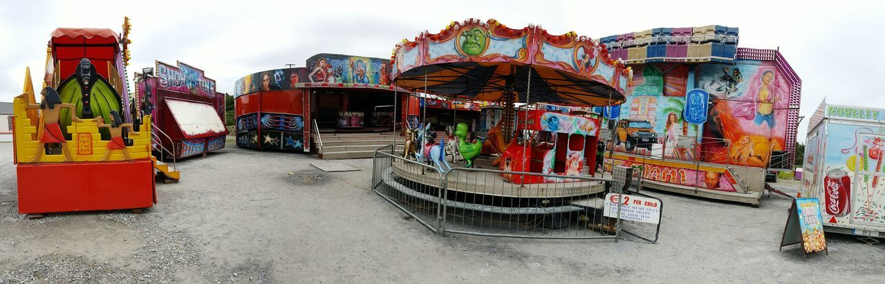 All The Fun Of The Fair Fairground Attractions No People