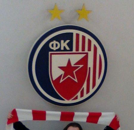 Taking Photos Hello World Delije Belgrade Serbia Balkan Crvena Zvezda Spartak Moscow Olympiakos Gate7 Football Stadium Mother Russia Hi!