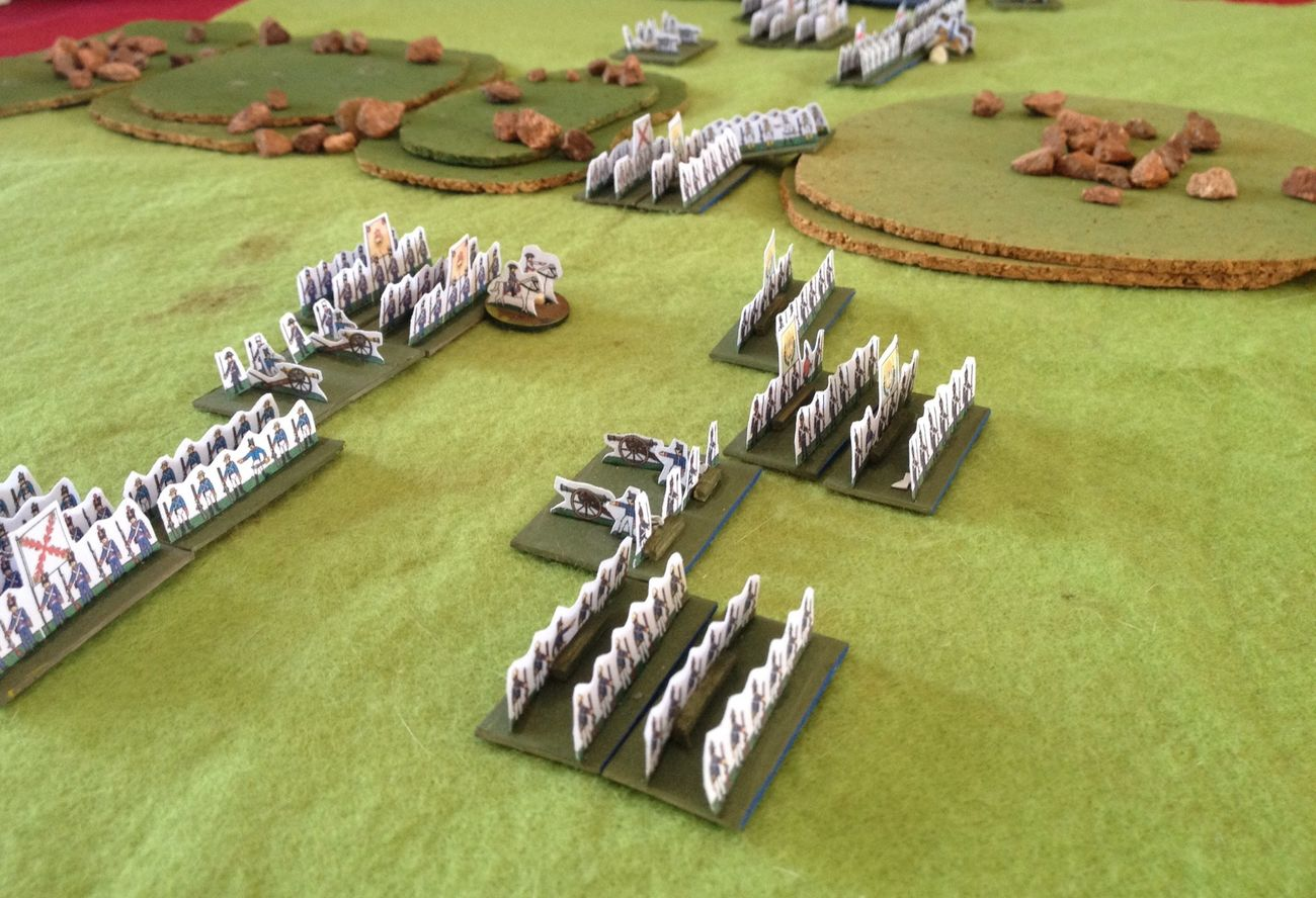 The Battle of Huaqui - 1811 - Wargame Game Hordes Of The Things Hobby