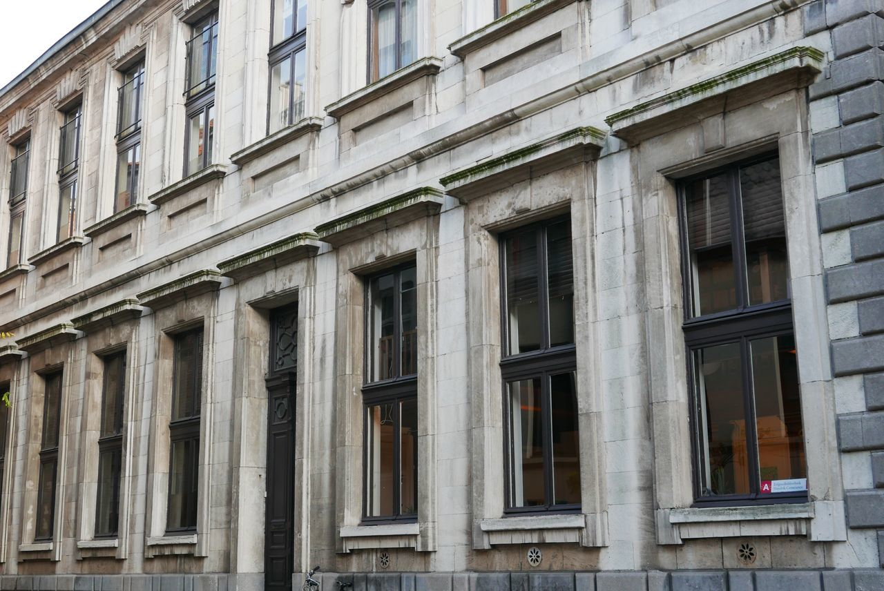 Building Exterior Architecture Built Structure Window Architectural Column Outdoors City Low Angle View No People Day Historical Site Old Building  Façade Architecture Photography Historical Building Outdoor Photography Antwerp City Centre Historical Place Antwerp, Belgium Old City Facade Building Windows