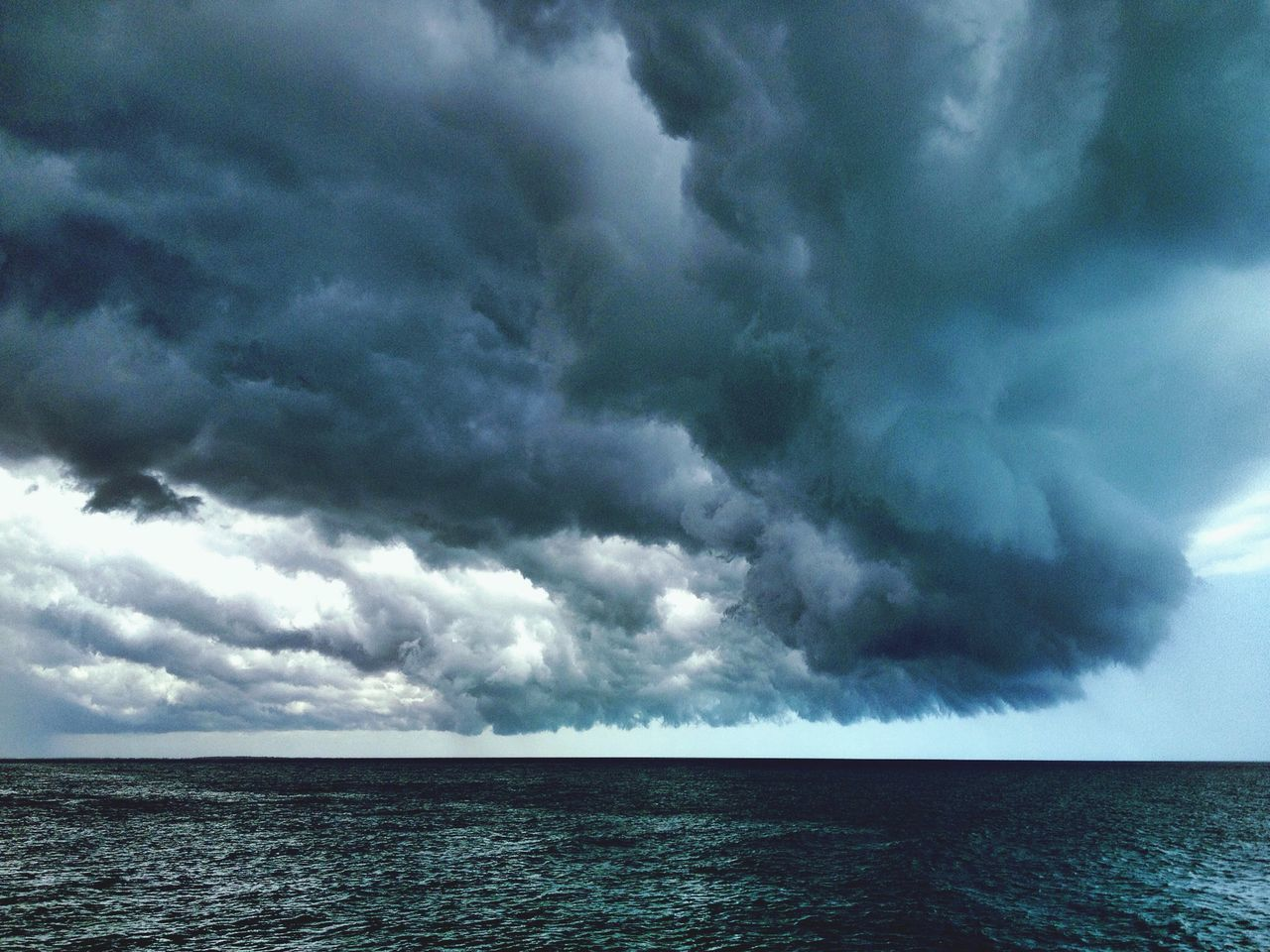 Beautiful stock photos of storm, Beauty In Nature, Cloud, Day, Horizon Over Water