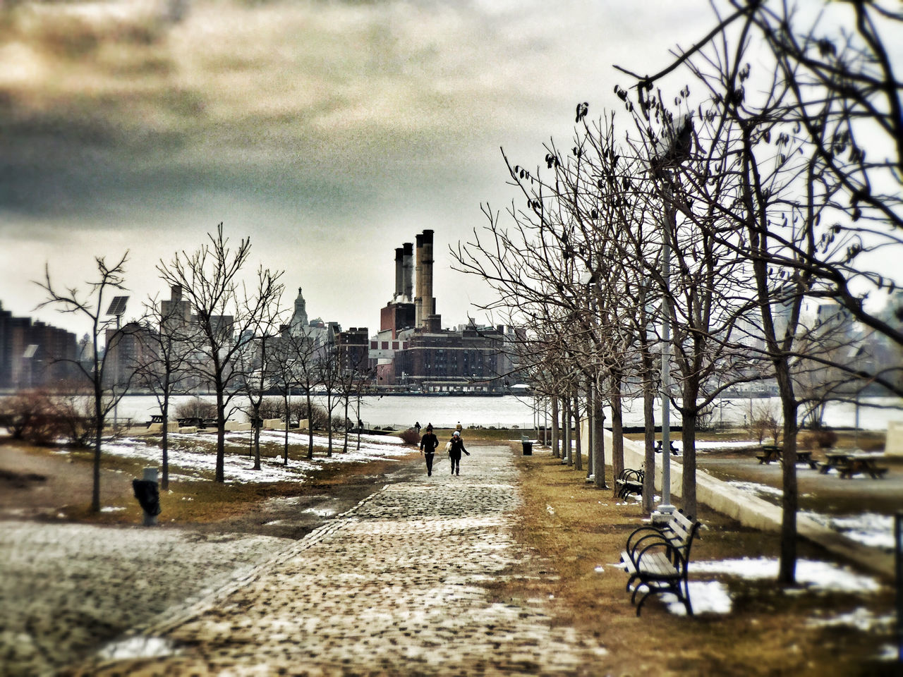 New York City Brooklyn Bushwickinletpark East River, NYC