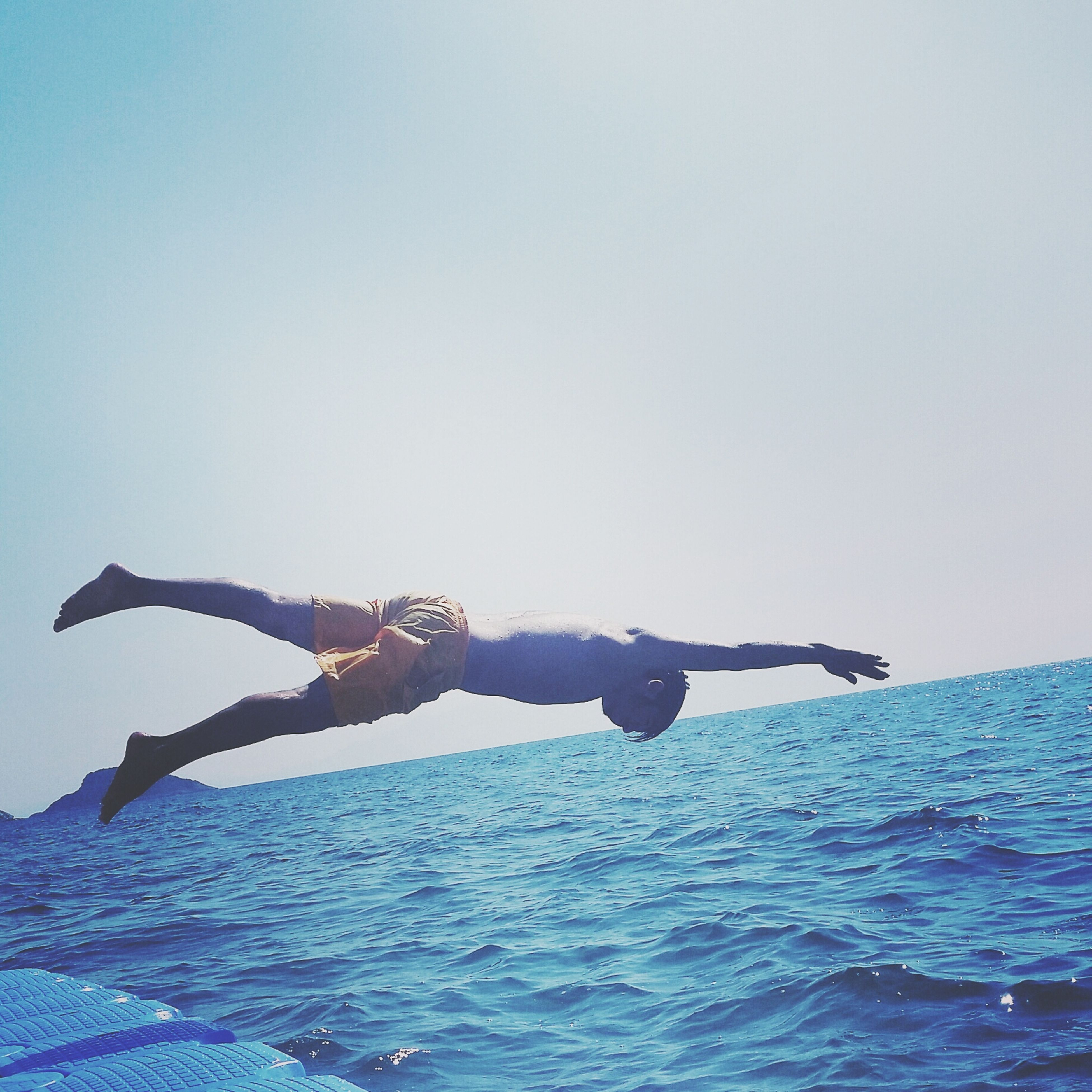 Summer Swimming People Enjoying Life