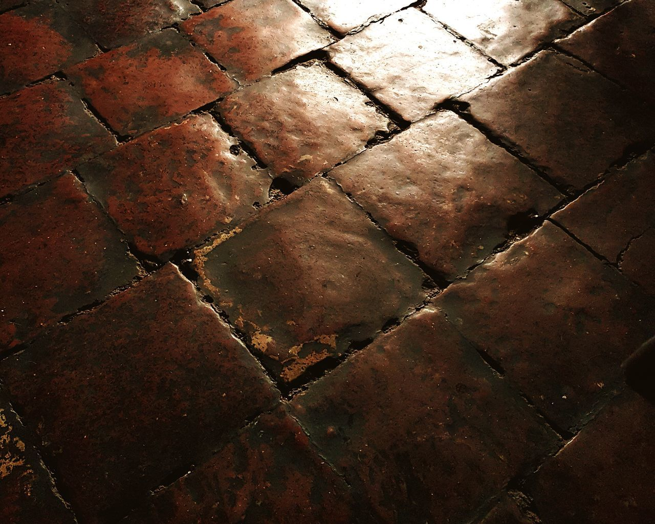 No People Close-up Floor Flooring Pattern Old Restaurant Cofeeshop Angelo Colonial