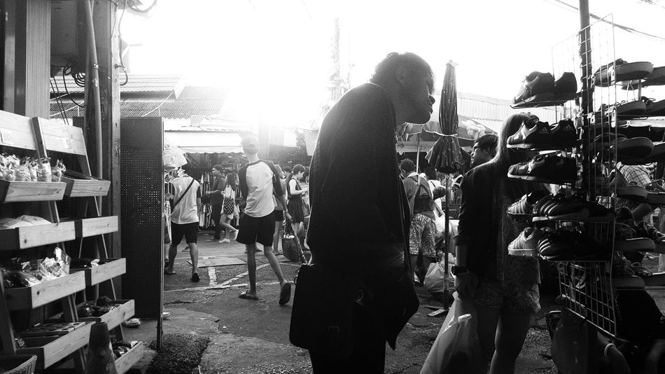 JJ monochrome. Black And White Photography Street Photography Jjmarketthailand Bangkok Monochrome