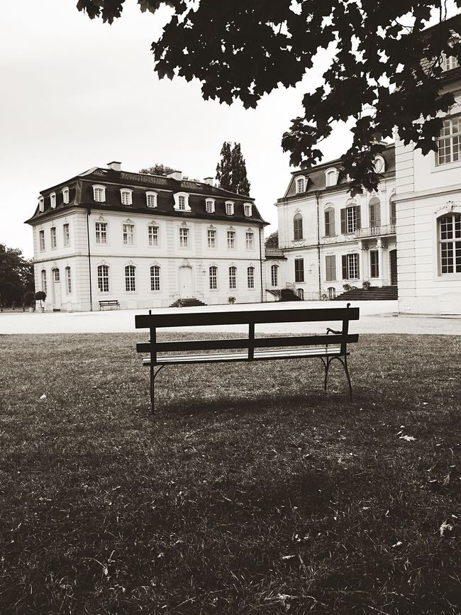 Schloss Wilhelmstal Bank Bench Enjoying Life Walking Around Historical Building At The Park Streetphotography Historical Architecture Escaping