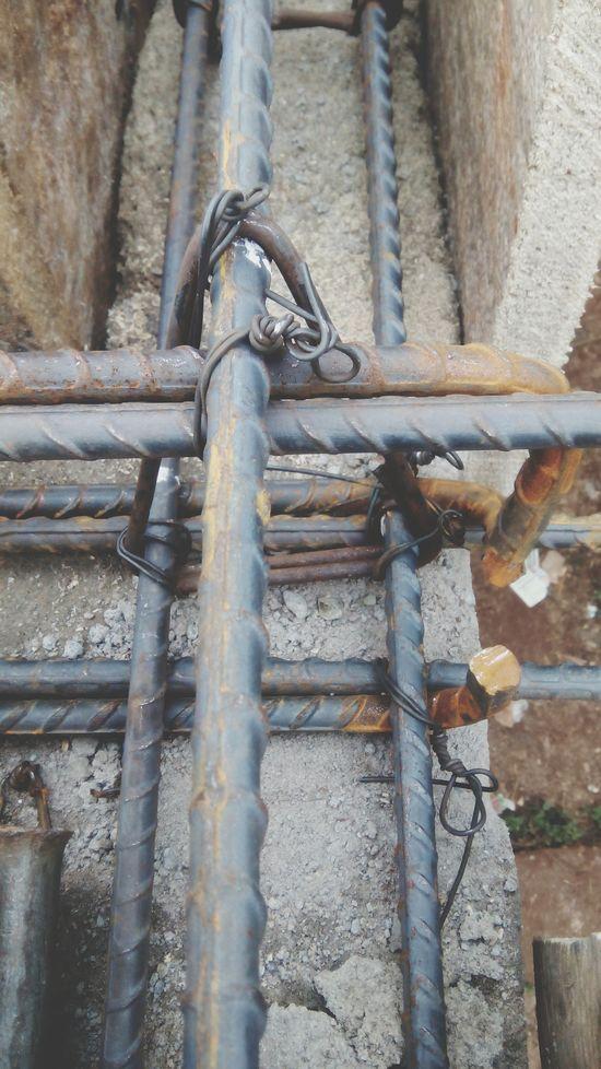 In Situ Concrete Lintel Tension Steel Structure  Construction Site My Handmade Work Korogwe-tanzania