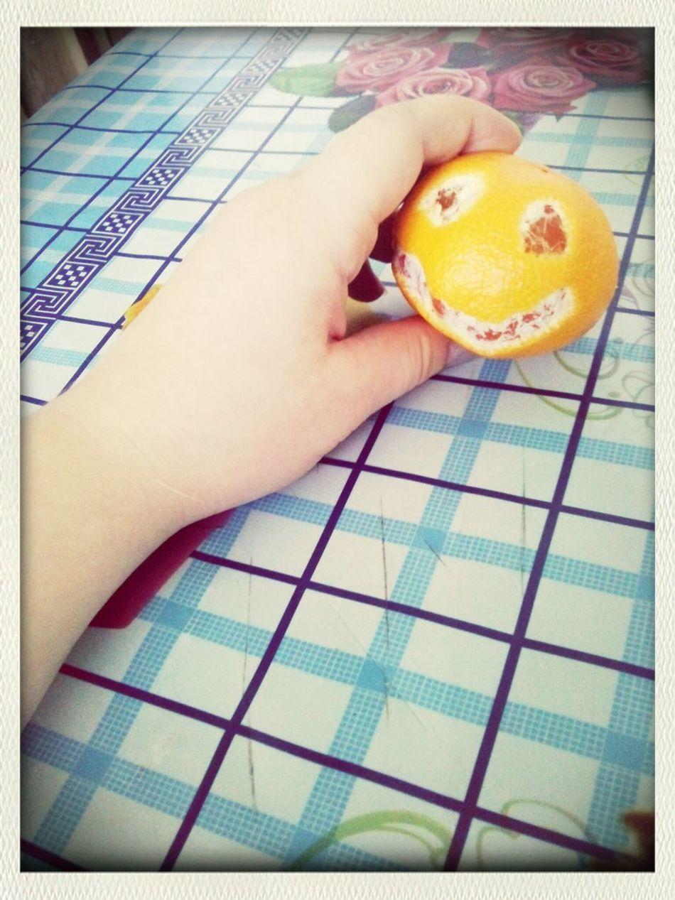 мандарин перед хеллоуином